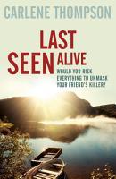 Last Seen Alive PDF