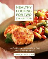Healthy Cooking for Two  or Just You  PDF