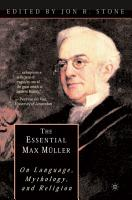 The Essential Max M  ller PDF