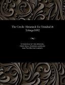 The Creole Almanack for Trinidad & Tobago1892