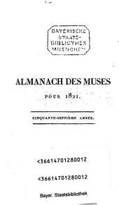 Almanach des muses: ou choix des poésies fugitives