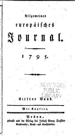 Allgemeines europ  isches Journal PDF
