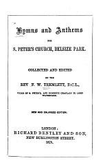 Hymns and Anthems for S. Peter's Church, Belsize Park