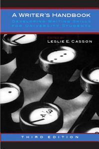 A Writer s Handbook   Third Edition PDF