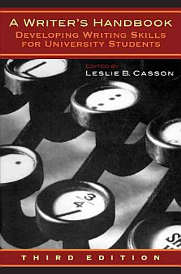 A Writer s Handbook   Third Edition