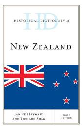 Historical Dictionary of New Zealand: Edition 3