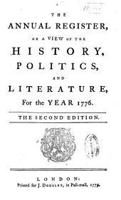 Annual Register: Volume 19