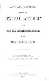 At the General Assembly of the State of Rhode-Island and Providence Plantations, Begun and Holden, ... at ... Within and for the Said State, on ..., in the Year of Our Lord ...