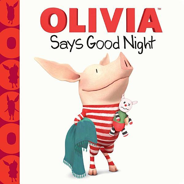 Download OLIVIA Says Good Night Book