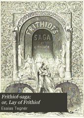 Frithiof-saga; Or, Lay of Frithiof
