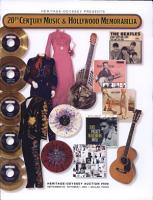 606 Heritage Galleries and Auctioneers  Music and Memorabilia Auction Catalog PDF