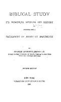Biblical Study PDF