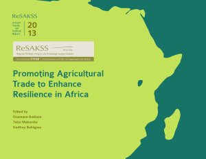 Promoting Agricultural Trade to Enhance Resilience in Africa PDF