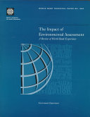 The Impact of Environmental Assessment