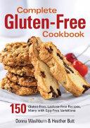Complete Gluten Free Cookbook Book