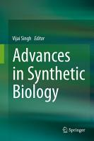 Advances in Synthetic Biology PDF