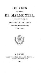 Oeuvres complètes: Contes moraux ; 1. 3