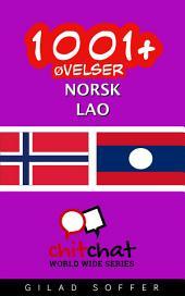 1001+ øvelser norsk - Lao