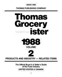 Thomas Grocery Register PDF