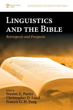 Linguistics and the Bible