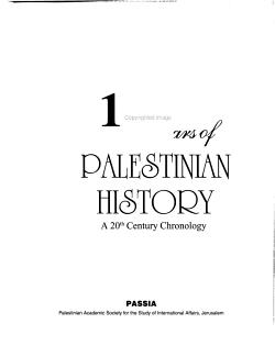 100 Years of Palestinian History PDF