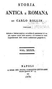 Storia antica e romana: Volumi 39-40