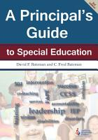 A Principal s Guide to Special Education  3rd Edition  PDF