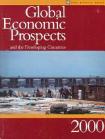 Global Economic Prospects and the Developing Countries PDF