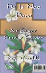 Funeral Service For Jesus He Is Not Here Book PDF