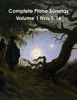 Complete Piano Sonatas Volume 1 Nos 1 16 PDF