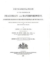Determination of the Positions of Feaghmain and Haverfordwest