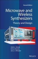 Microwave and Wireless Synthesizers PDF