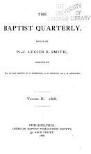 The Baptist Quarterly PDF