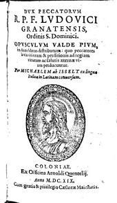 Dux Peccatorum