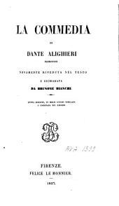 La commedia di Dante Alighieri: Volume 3