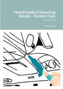 Handmade Colouring Books Exotic Cars