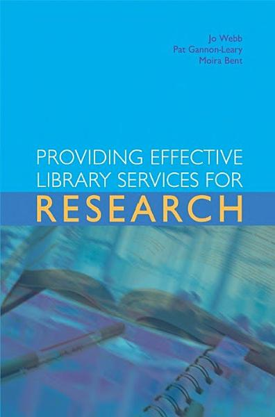 Providing Effective Library Services For Research