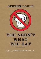 You Aren t What You Eat PDF