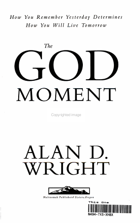 The God Moment Principle PDF