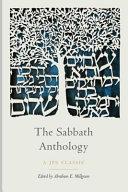 The Sabbath Anthology