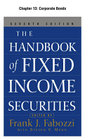 The Handbook of Fixed Income Securities  Chapter 13   Corporate Bonds PDF