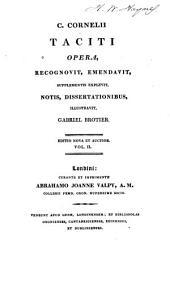 Opera: Annalium, libri xi-xvi
