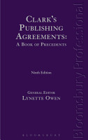 Clark s Publishing Agreements  a Book of Precedents PDF