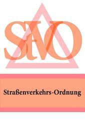 Straßenverkehrs-Ordnung - StVO