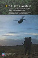 The 71F Advantage  Applying Army Research Psychology for Health and Performance Gains PDF