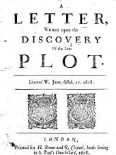 A Letter Written Upon the Discovery of the Late Plot