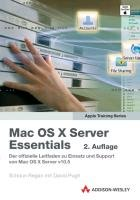 Mac OS X server essentials PDF