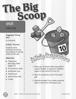 Subtracting--The Big Scoop Activity