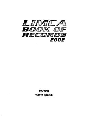 Limca Book of Records PDF