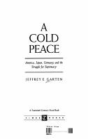 A Cold Peace PDF